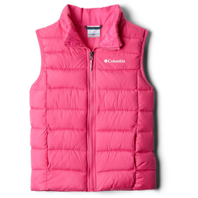 Columbia Powder Lite Puffer Weste Jugend pink ice